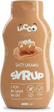 Locco Salty Caramel Syrup 500ML No Sugar No Fat