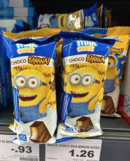 Milk Snack Choco Banana Minion-Motiv