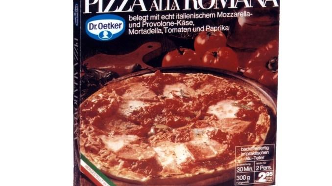 Dr. Oetker Tiefkühlpizza Alla Romana