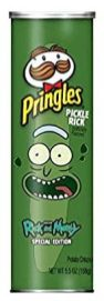 Pringles Pickle Rick Special Edition 158G