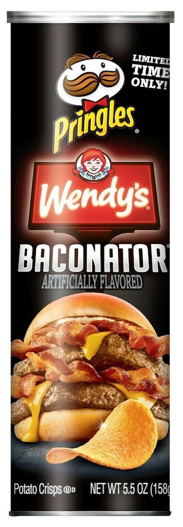 Pringles Wendy's Baconator 158G