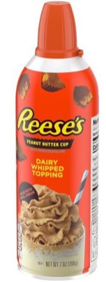 Reese's Peanut Butter Cup Dairy Whipped Topping 198G