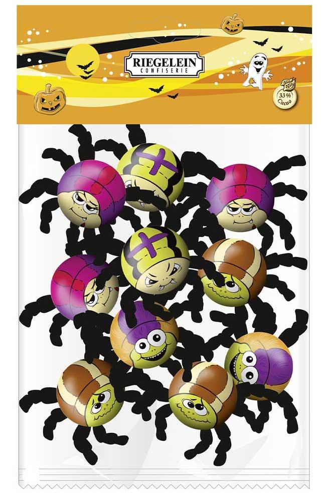 Riegelein Halloween Schokoladenspinnen 50g