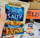 Snyder's of Hanover Sweet+Salty Pretzel Pieces Salted Caramel 100G