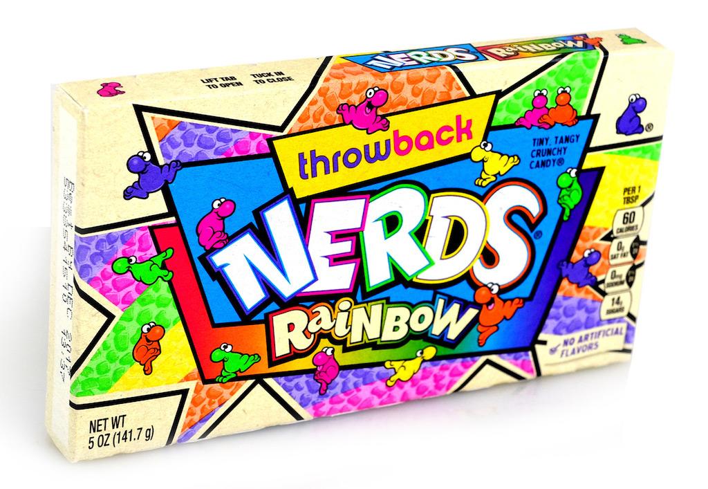 Throwback Nerds Rainbow