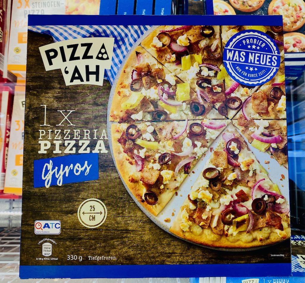 Aldi Pizz'ah Gyros 330G TK