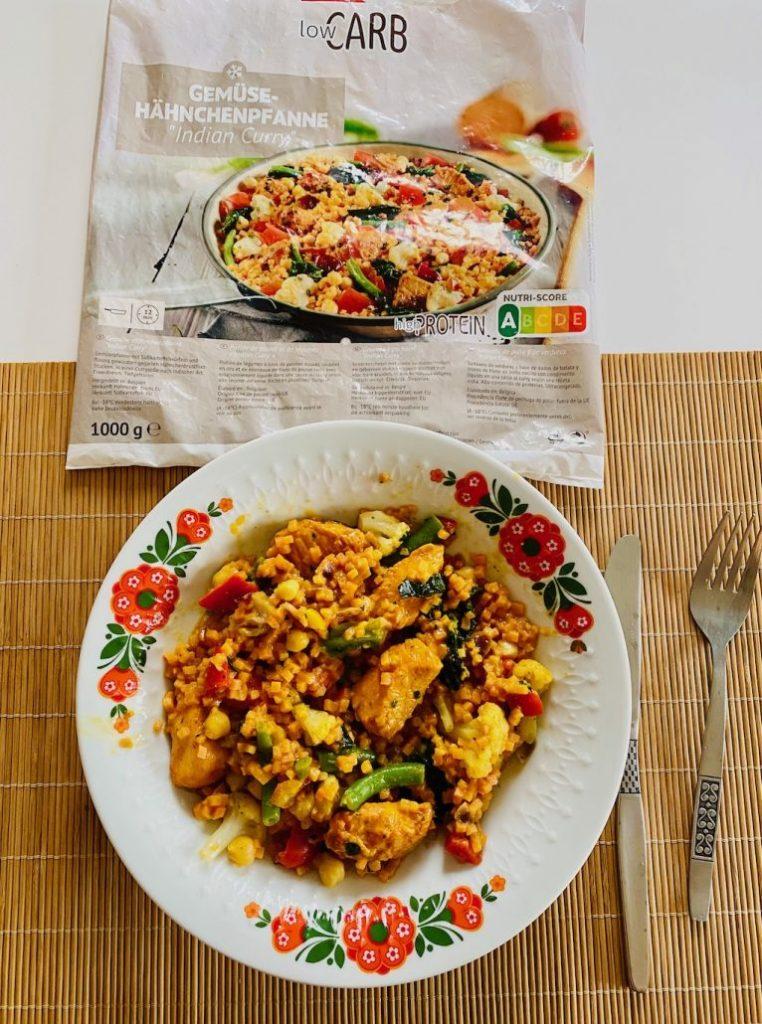 BoFrost Gemüse-Hähnchenpfanne Indian Curry 1000G Nutri-Score