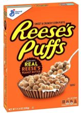 General Mills Reese's Puffs Cereals 326G