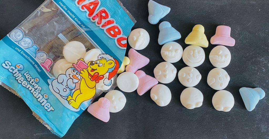Haribo Lustige Schneemänner Marshmallow