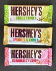Hershey's Schokoladenriegel Serie Eissorten Cookies N Mint-Springkes N Creme-Birthday Cake-Strawberries n Creme 39G