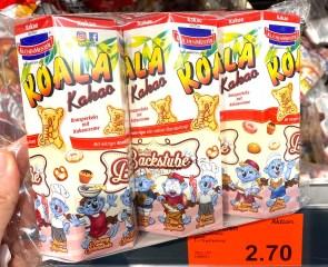 Kuchenmeister Koala Kakao3er In der Backstube Aldi 3x75G