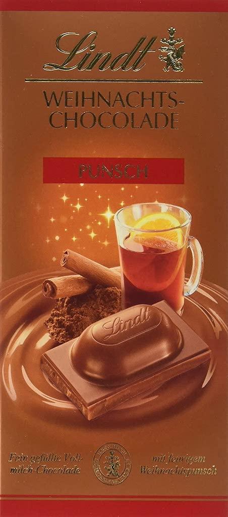 Lindt Weihnachts-Chocolade Punsch-Geschmack