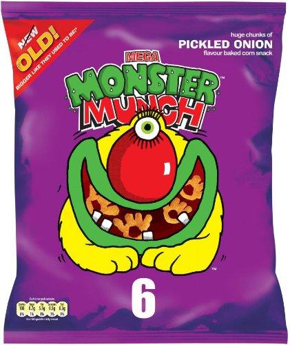 Mega Monster Munch Pickled Onion 6er