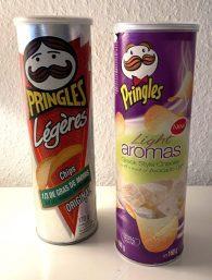 Pringles Legeres Original 170G und Light Aromas Greek Style Cheese 160G