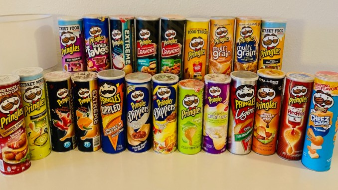 Pringles Sammlung Nina