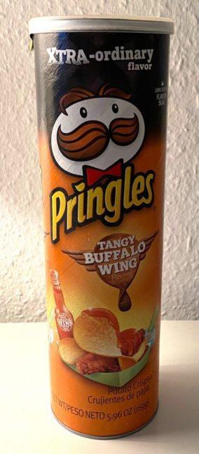 Pringles XTRA-ordinary flavor Tangy Buffalo Wing 169G