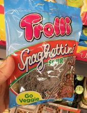 Trolli Spaghettini Sour Cola Vegan