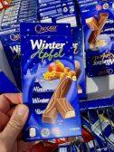 Aldi Choceur Winter Apfel 11 Riegel Schokolade