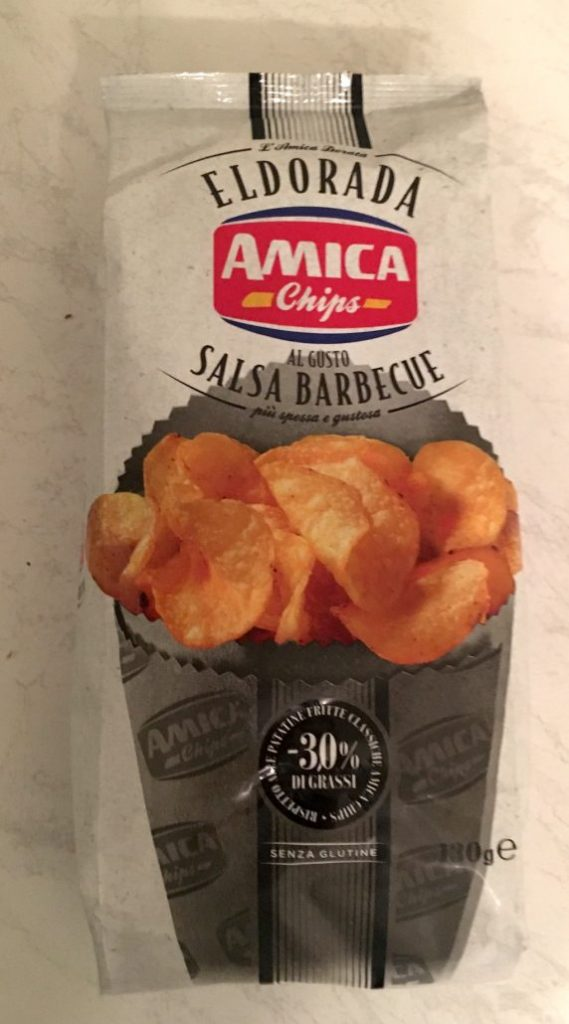Amica Chips Eldorada Salsa Barbecue -30% FEtt