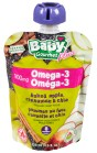 Baby Gourmet Plus Omega-3 baked apple cinnamon+chia 128ml