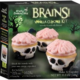 Crafty Cooking Kits Brains Vanilla Cupcake Kit 12er 326g