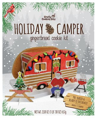 Crafty Cooking Kits Holiday Camper Gingerbread Cookie Kit 657G