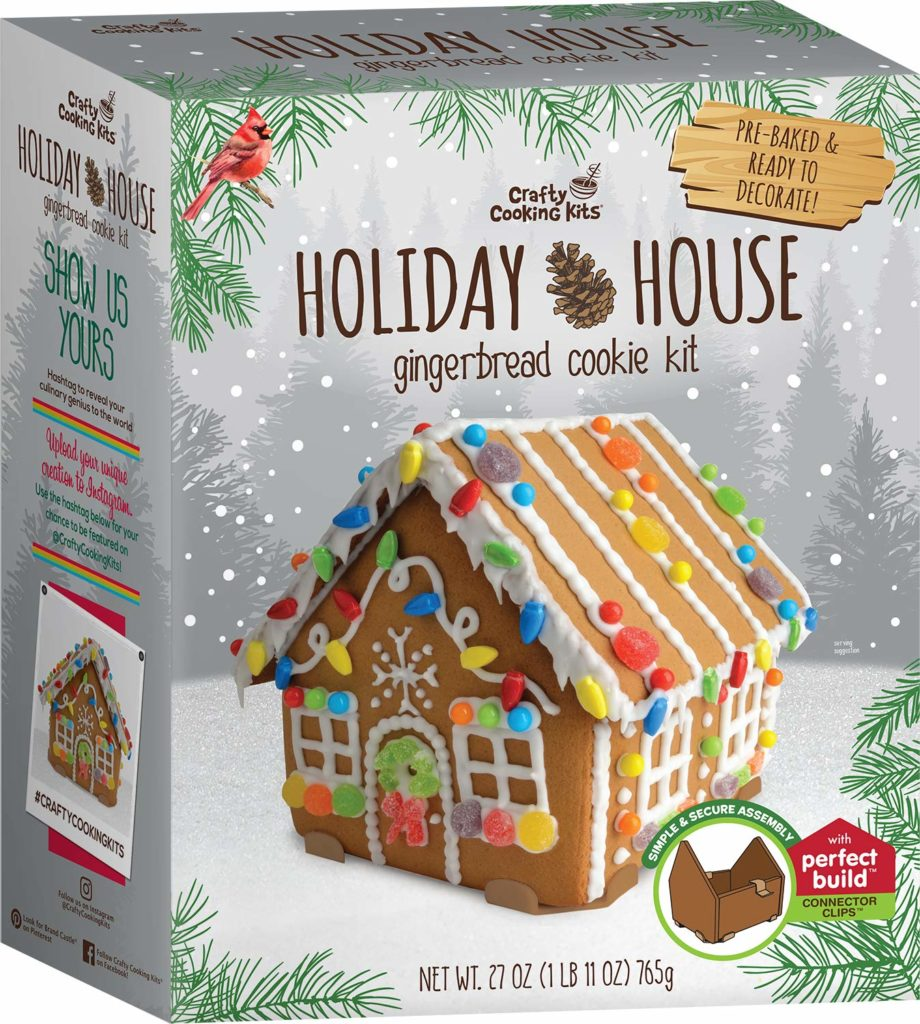 Crafty Cooking Kits Holiday House Gingerbread Cookie Kit 765G