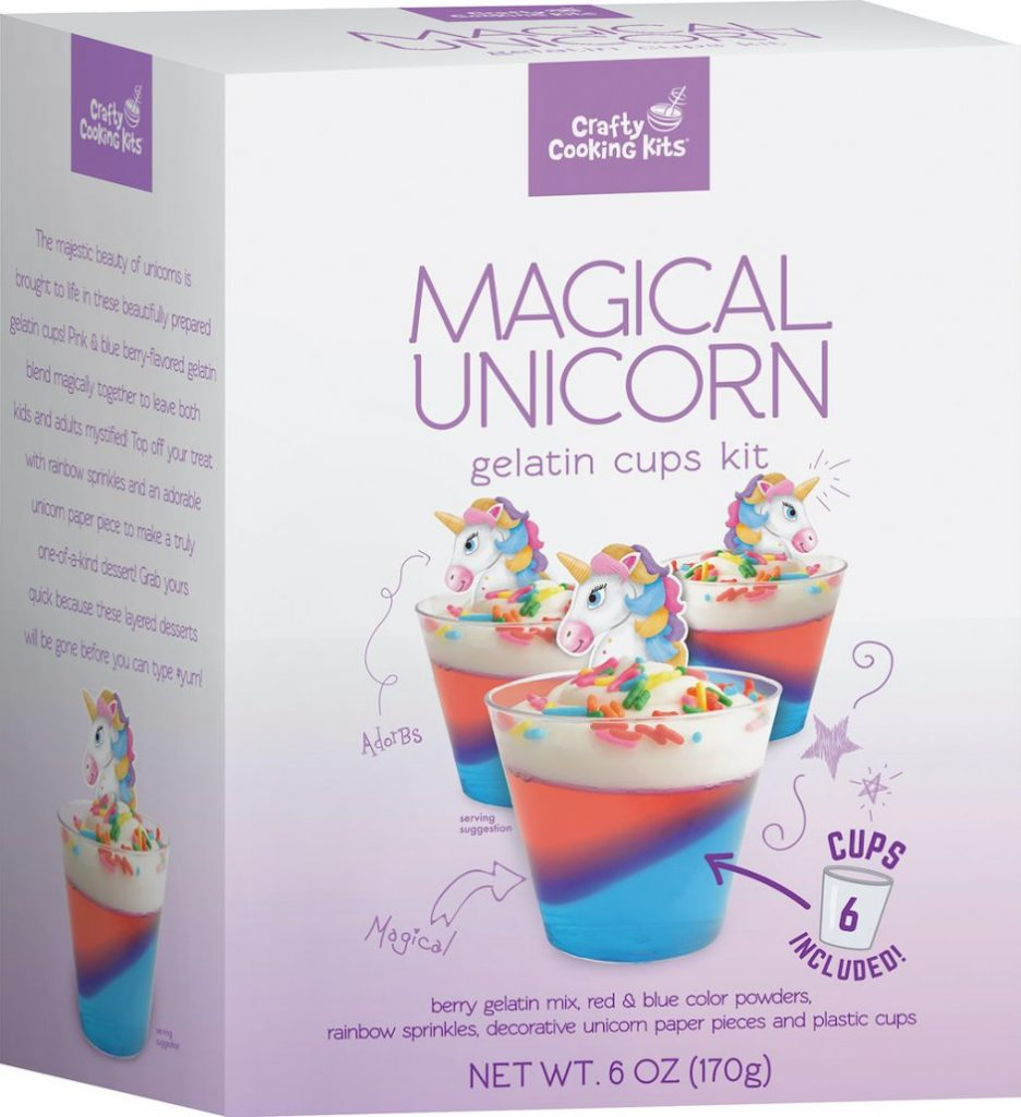 Crafty Cooking Kits Magical Unicorn 6Cups 170G