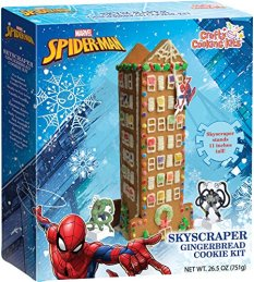 Crafty Cooking Kits Marvel Spider-Man Skyscraper Gingerbread Cookie Kit 751G