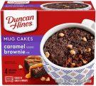 Duncan Hines Mug Cakes Caramel Brownie 4er, 300 Gramm.