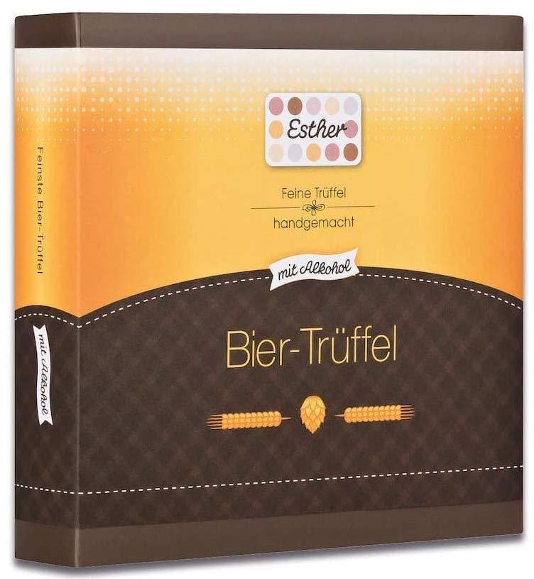 Esther Handgemachte Bier-Trüffel mit Alkohol
