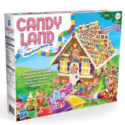 Hasbro Cookies United Candyland Gingerbread House Kit 878G
