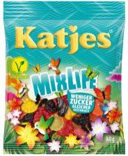 Katjes Mixlife Weniger Zucker Vogelmotiv 160g