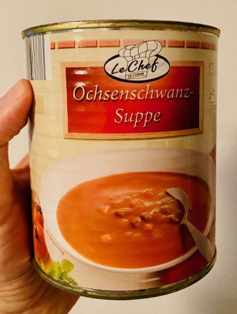 Le Chef Ochsenschwanzsuppe Konservendose