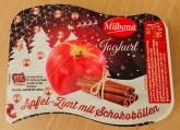 Lidl Milbona Joghurt Apfel-Zimt mit Schokobällen 175G