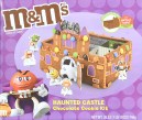 Mars M+M Haunted Castle Chocolate Cookie Kit 746G