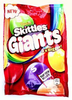 Mars Skittles Giants 3xbigger