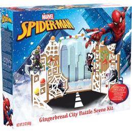 Marvel Spider-Man Gingerbread City Battle Scene Kit 652G