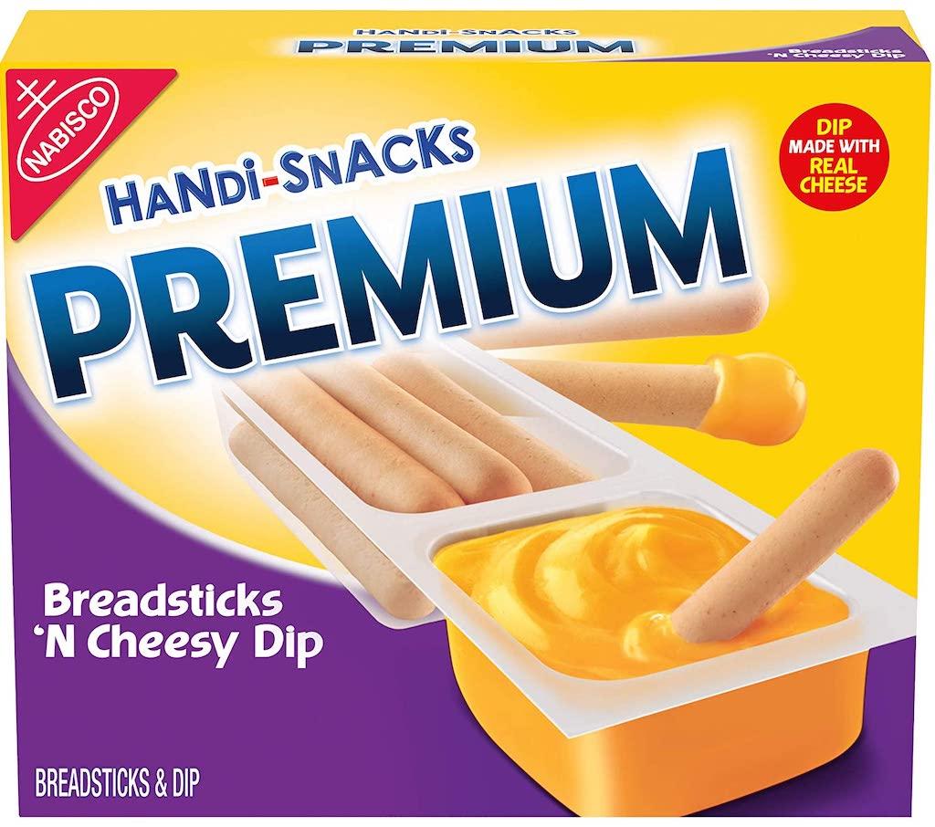 Nabisco Handi-Snacks Premium Breadsticks and Cheese Dip
