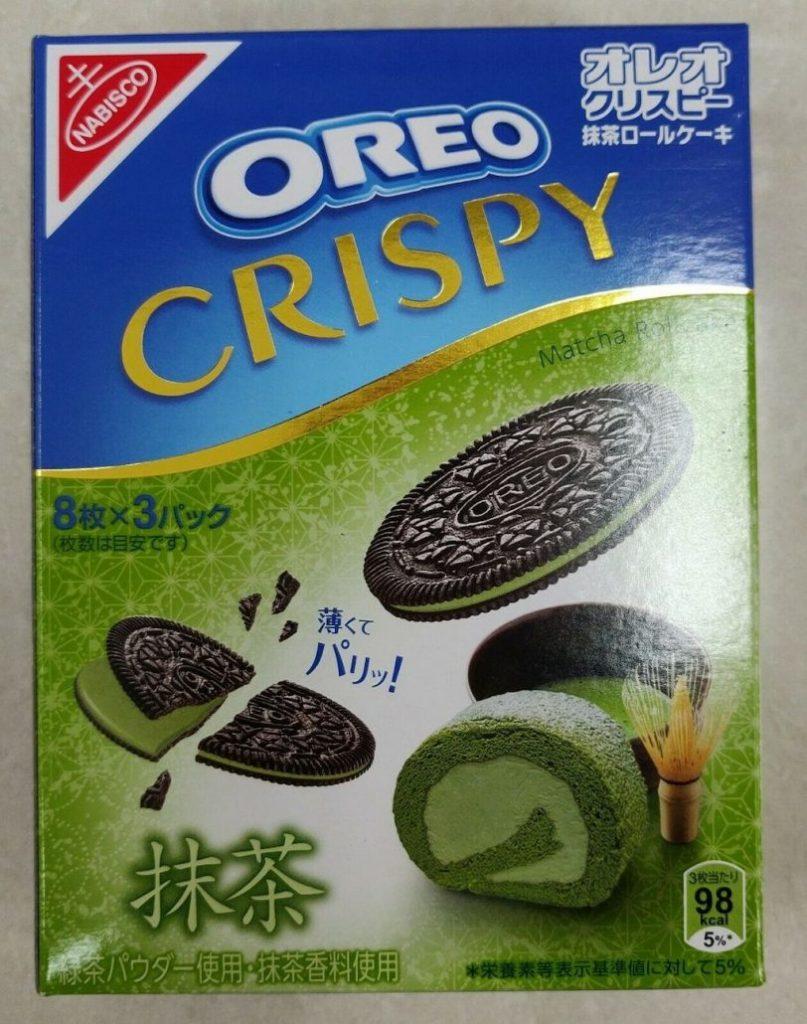 Nabisco Oreo Crispy Matcha 8x3er Japan