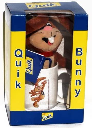 Nestlé Nesquik Quik Bunny mit Kakaobecher