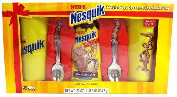 Nestlé Nesquik Syrup 2 Becher und 2 Löffel