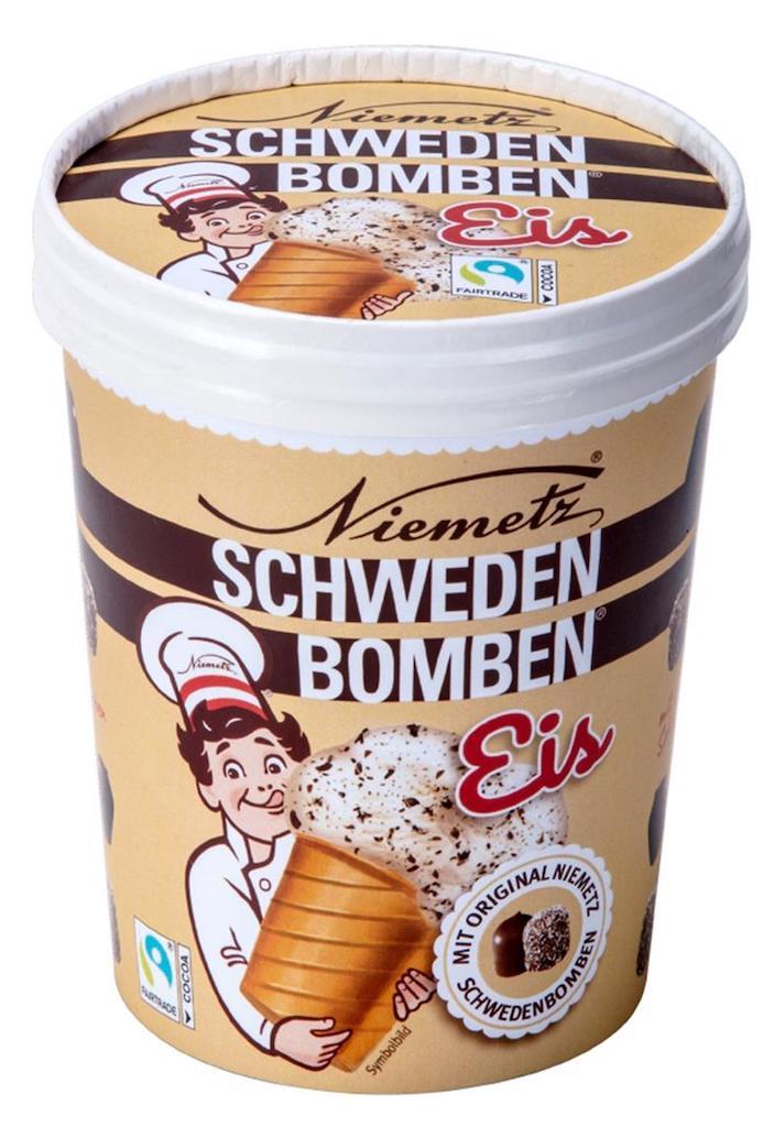 Niemetz Schwedenbomben Eis Pint