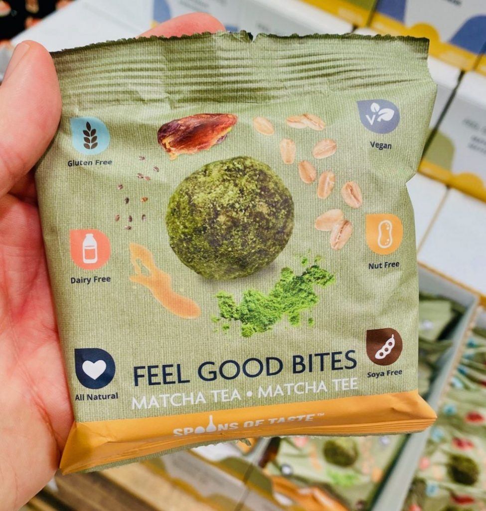 Spoons of Taste Feel Good Bites Matcha Tea2800