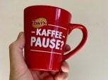 Twix Kaffeebecher Kaffeepause