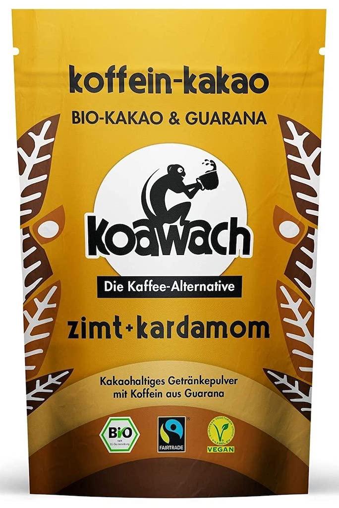 koawach Koffein-kakao zimt-kardamom