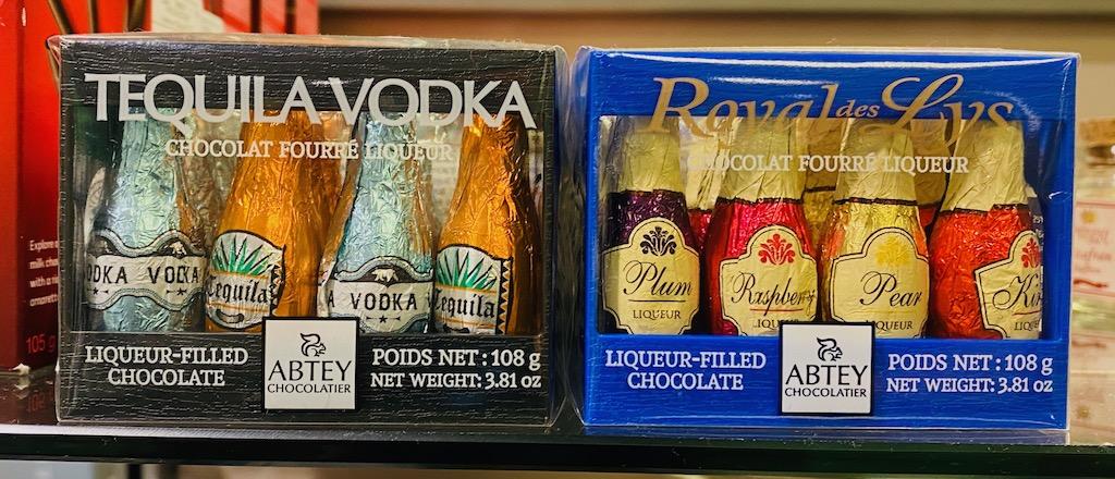 Abtey Chocolatier Tequila Vodka und Royal des Lys 108G