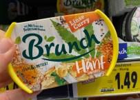 Brunch Linse-Curry mit Hanfsamen Brotaufstrich