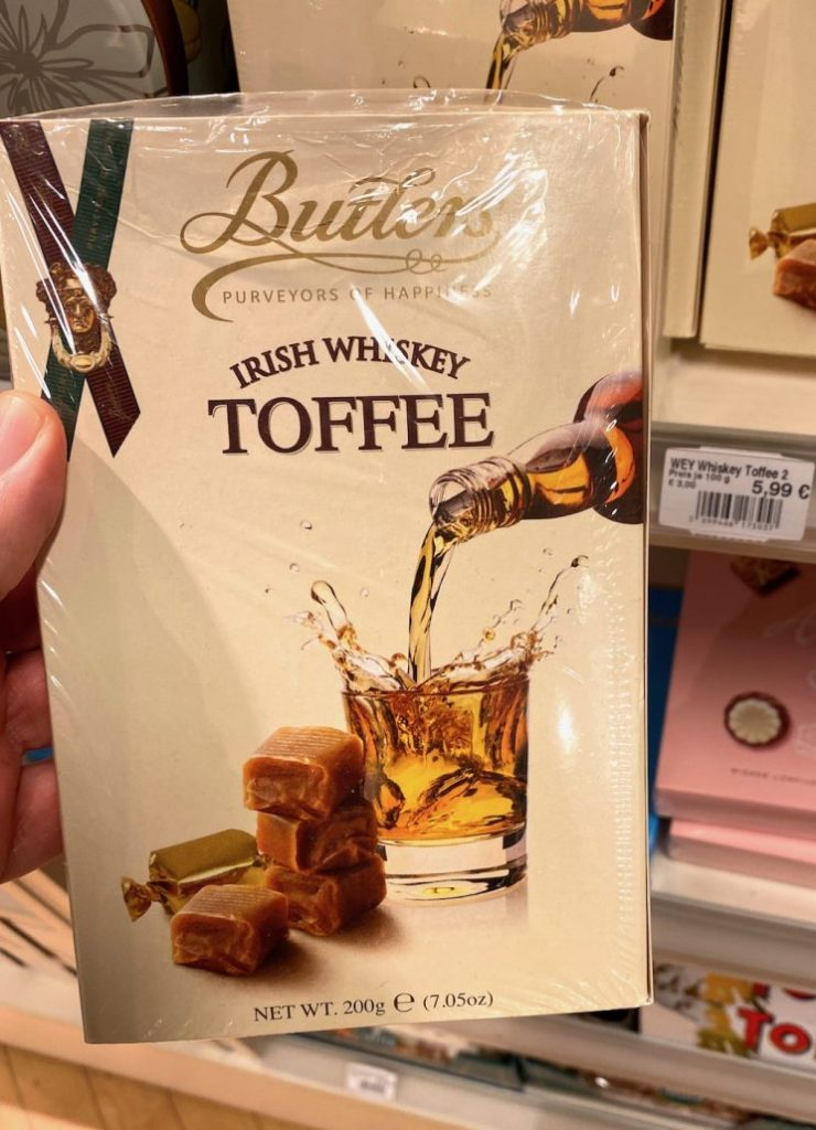 Butlers Irish Whiskey Toffee 200G