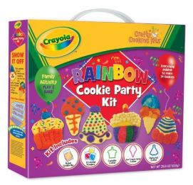 Crayola Crafty Cooking Kits Rainbow Cookie Party Kit 691G